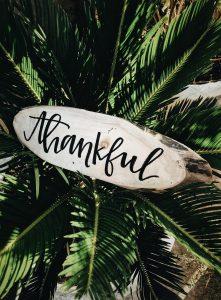Dankbar sein danke thankful