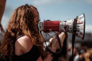 Demonstration Meckern Meinung